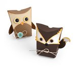 Sizzix - Fox Tales Collection - Thinlits Die - Box, Owl and Fox