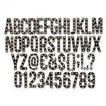Sizzix - Tim Holtz - Alterations Collection - Thinlits Die - Alphanumeric Marquee