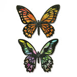Sizzix - Tim Holtz - Alterations Collection - Thinlits Die - Detailed Butterflies