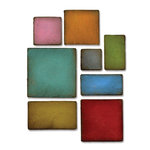 Sizzix - Tim Holtz - Alterations Collection - Bigz Die - Mosaic