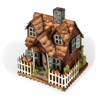 Sizzix - Tim Holtz - Alterations Collection - Bigz Die - Village Cottage