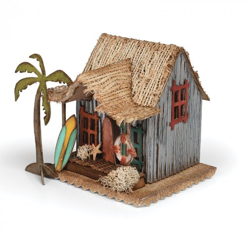 Sizzix Tim Holtz Alterations Village Surf Shake Bigz Die