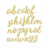Sizzix - Thinlits Plus Die - Alphabet