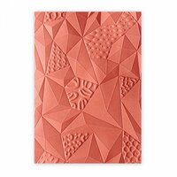 Sizzix - 3D Textured Impressions - Embossing Folders - Jumbled Triangles