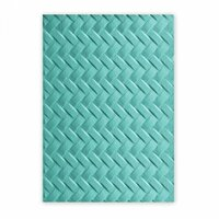 Sizzix - 3D Textured Impressions - Embossing Folders - Woven