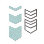 Sizzix - Jewelry Collection - Movers and Shapers Die - Chevron