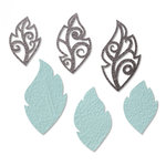 Sizzix - Jewelry Collection - Movers and Shapers Die - Leaf Charms