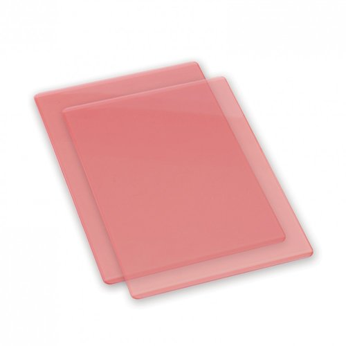 Sizzix - Accessory - Cutting Pads, Standard, 1 Pair - Coral