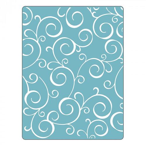 Sizzix - Textured Impressions - Embossing Folders - Swirls 4