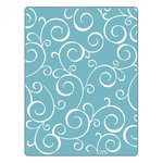 Sizzix - Textured Impressions - Embossing Folders - Swirls 4
