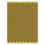 Sizzix - Tim Holtz - Alterations Collection - Texture Fades - Embossing Folder - Chevron