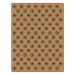 Sizzix - Tim Holtz - Alterations Collection - Texture Fades - Embossing Folder - Dotted Bullseye Set