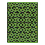 Sizzix - Tim Holtz - Alterations Collection - Texture Fades - Embossing Folder - Lattice
