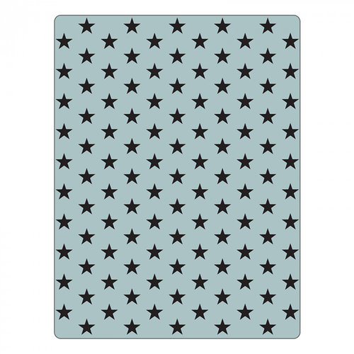 Sizzix - Tim Holtz - Alterations Collection - Texture Fades - Embossing Folder - Tiny Stars