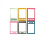 Sizzix - Thinlits Die - Photo Frame and Words