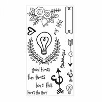 Sizzix - Clear Acrylic Stamps - Memories