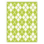 Sizzix - Textured Impressions - Embossing Folders - Argyle