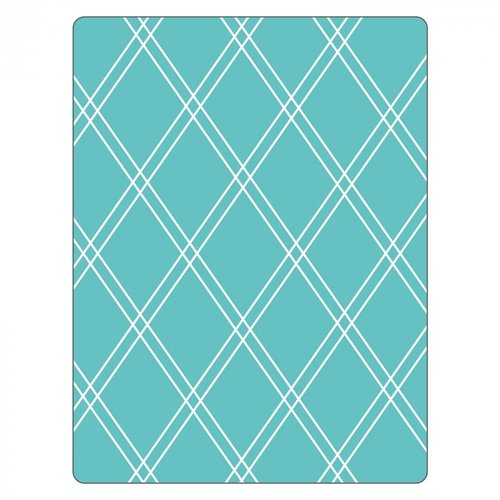Sizzix - Textured Impressions - Embossing Folders - Argyle 2