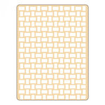 Sizzix - Textured Impressions - Embossing Folders - Basket Weave