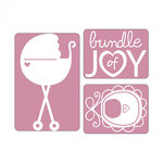 Sizzix - Textured Impressions - Embossing Folders - Bundle of Joy Set