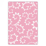 Sizzix - Textured Impressions - Embossing Folders - Curly Vine