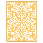 Sizzix - Textured Impressions - Embossing Folders - Damask