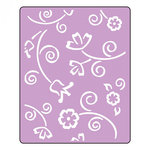 Sizzix - Textured Impressions - Embossing Folders - Fantasy Flowers