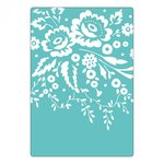 Sizzix - Textured Impressions - Embossing Folders - Floral Tapestry