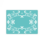 Sizzix - Textured Impressions - Embossing Folders - Frame, Ornate 3