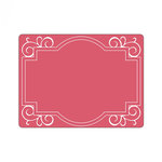 Sizzix - Textured Impressions - Embossing Folders - Frame, Ornate with Swirls