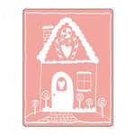Sizzix - Christmas - Textured Impressions - Embossing Folders - Gingerbread House