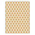 Sizzix - Textured Impressions - Embossing Folders - Honeycomb
