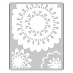 Sizzix - Textured Impressions - Embossing Folders - Lace Medallions