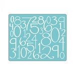 Sizzix - Textured Impressions - Embossing Folders - Numbers