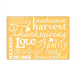 Sizzix - Textured Impressions - Embossing Folders - Phrases, Autumn