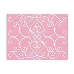 Sizzix - Textured Impressions - Embossing Folders - Scrollmark