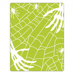 Sizzix - Halloween - Textured Impressions - Embossing Folders - Skeleton Hands, Spiders and Spiderweb