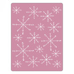 Sizzix - Christmas - Textured Impressions - Embossing Folders - Snowflakes 3