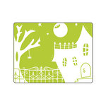 Sizzix - Halloween - Textured Impressions - Embossing Folders - Spooky House
