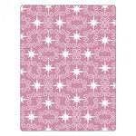 Sizzix - Textured Impressions - Embossing Folders - Swirly Stars