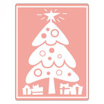Sizzix - Textured Impressions - Embossing Folders - Tree, Christmas and Gifts