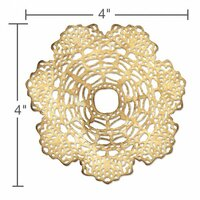 Sizzix - Tim Holtz - Alterations Collection - Thinlits Die - Doily