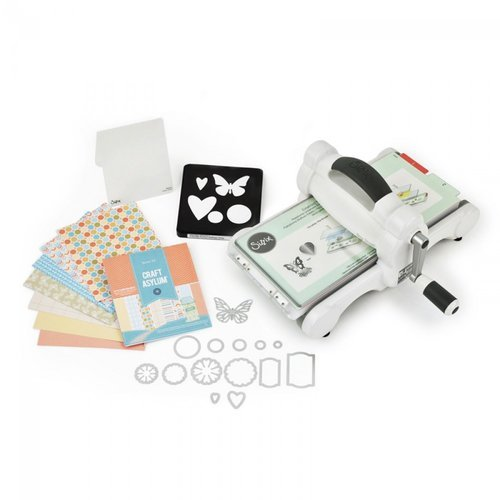 Sizzix - Big Shot Starter Kit - White and Gray