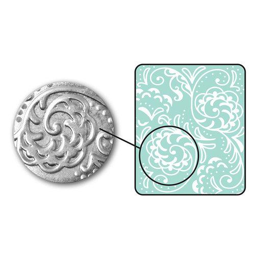 Sizzix - DecoEmboss Die - Embossing Folders - Botanical Swirls