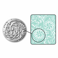 Sizzix - DecoEmboss Die - Embossing Folders - Botanical Swirls
