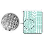 Sizzix - DecoEmboss Die - Embossing Folders - Modern Mosaic