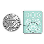 Sizzix - DecoEmboss Die - Embossing Folders - Ornate Swirls