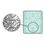 Sizzix - DecoEmboss Die - Embossing Folders - Ornate Swirls