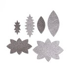 Sizzix - Leather Jewelry Collection - Movers and Shapers Die - Shapes