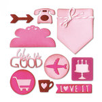 Sizzix - Thinlits Die - Planner Page - Icons